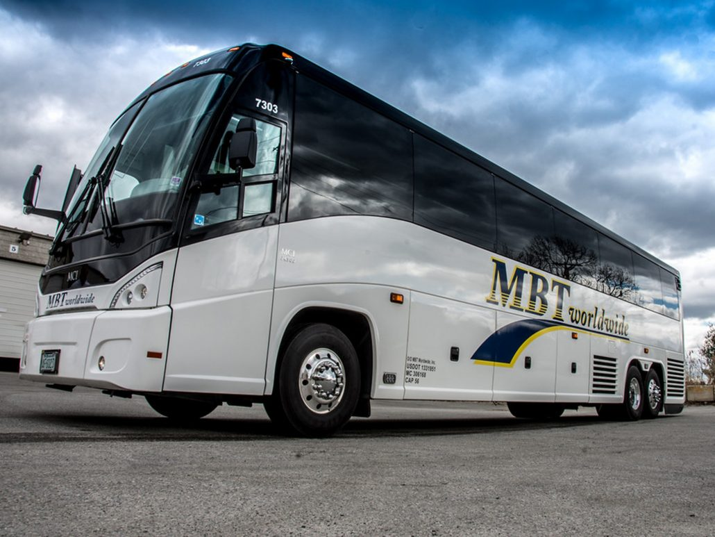 MBT Worldwide a Boston MA based bus & ground transportation company - 38 Passenger