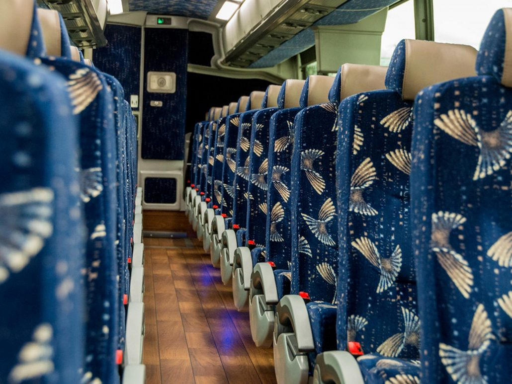 MBT Worldwide a Boston MA based bus & ground transportation company - Seating